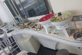 Yas Hotel in Abu Dhabi - The F1 building